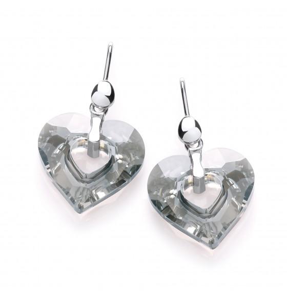 Lexie Swarovski Heart Drops