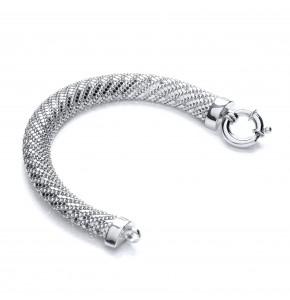 Yasmine Silver Bracelet