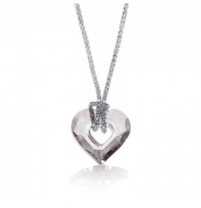 Lexie Swarovski Small Heart Necklace