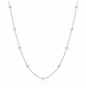 Giovanna Silver Necklace