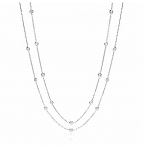 Giovanna Shirelle Silver Necklace