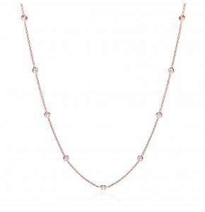 Giovanna Rose Gold Plated Necklace