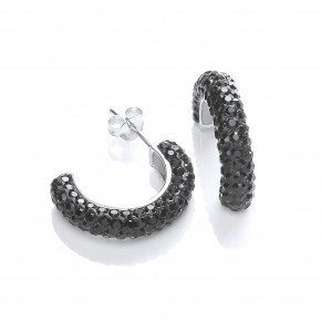 Roxy Black Hoops