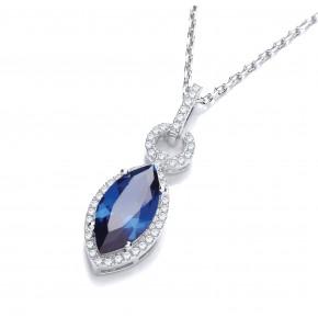 Caroline Blue Pendant