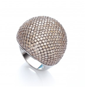 Valentina Champagne Cocktail Ring
