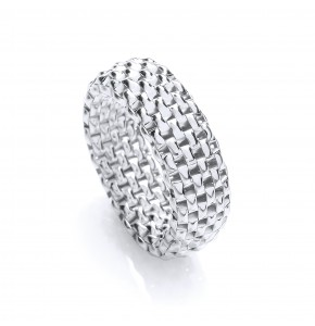Caprice Silver Ring