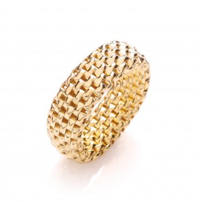 Caprice Gold Colour Ring