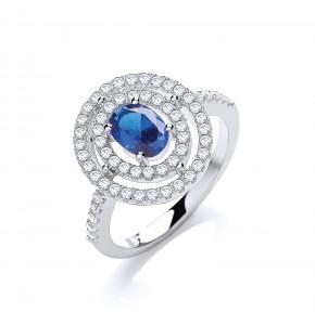 Danilo Blue Ring