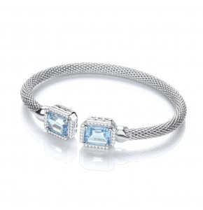 Malin Topaz Bangle