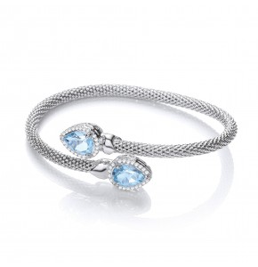 Bethany Topaz Bangle