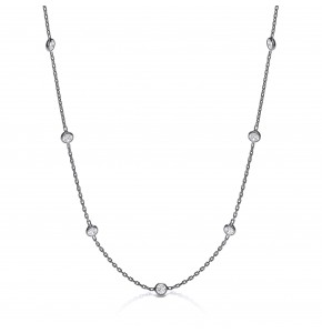 Giovanna Ruthenium Plated Necklace