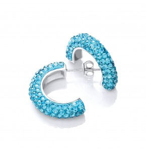 Roxy Blue Hoops