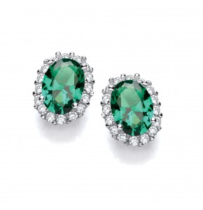 Stella Green Earrings
