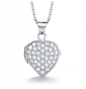 Catherine Small Heart Locket