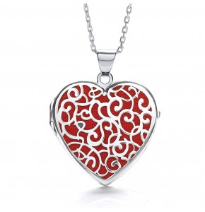 Alice Heart Red Locket