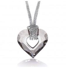 Lexie Swarovski Medium Heart Necklace