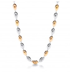 Ashanti Silver & Gold Plated Necklace